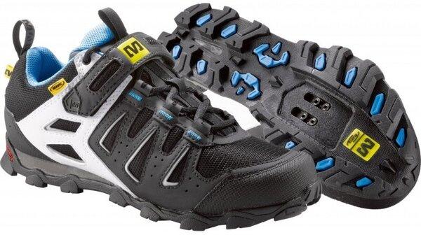 Mavic Mavic Zoya Womens MTB Shoe Black/White/Process Blue US 8.5