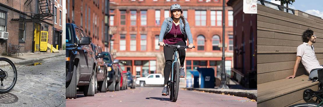 Breezer Midtown Hybrid Bike