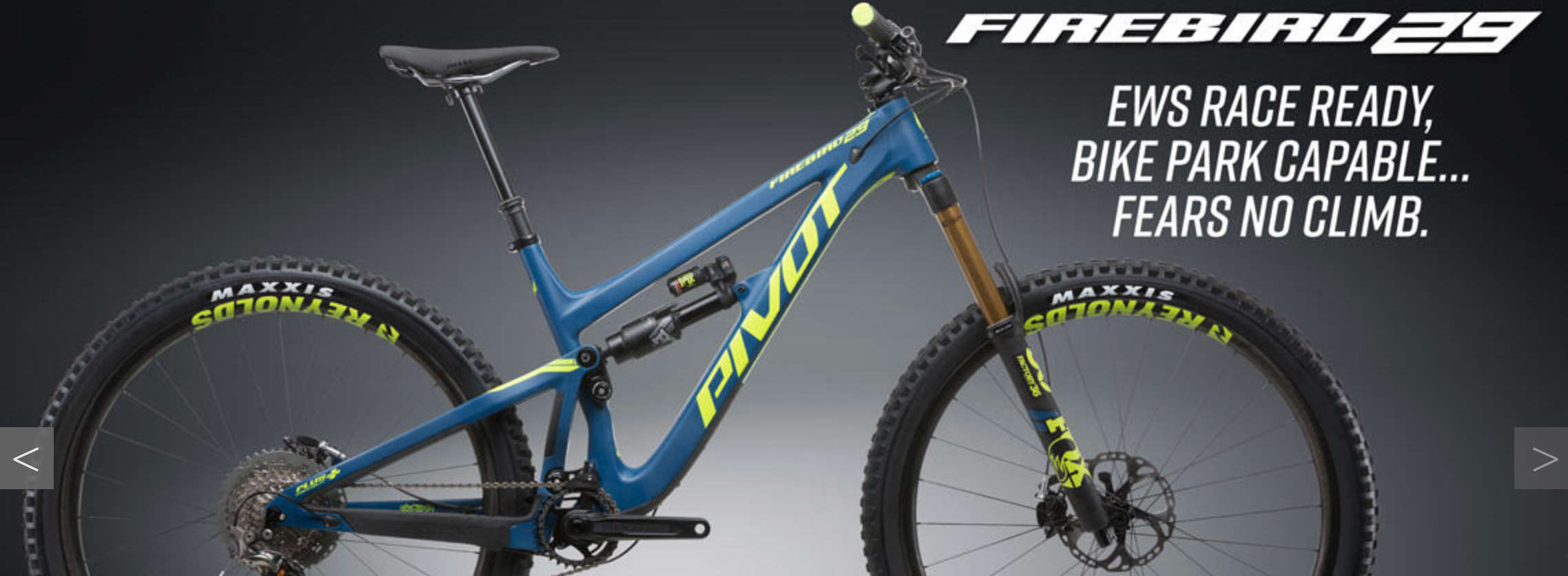 Pivot Fire Bird available at JRA Cycles
