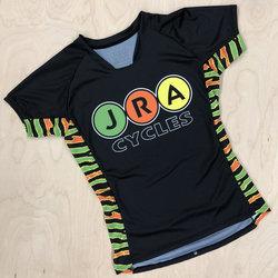 JRA Cycles Jersey: JRA Fells Jersey, Womens, Zebra