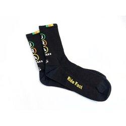 Save Our Soles JRA Merino Wool Socks, Black