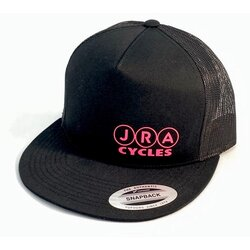 JRA Cycles JRA Hat - Black/Pink