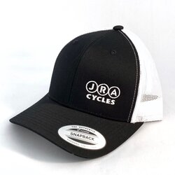 JRA Cycles JRA Hat - Black/White