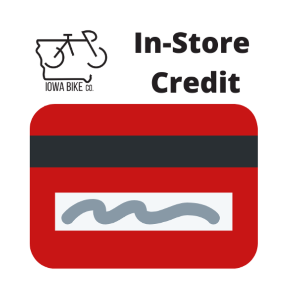 Iowa Bike Co. In-Store Credit
