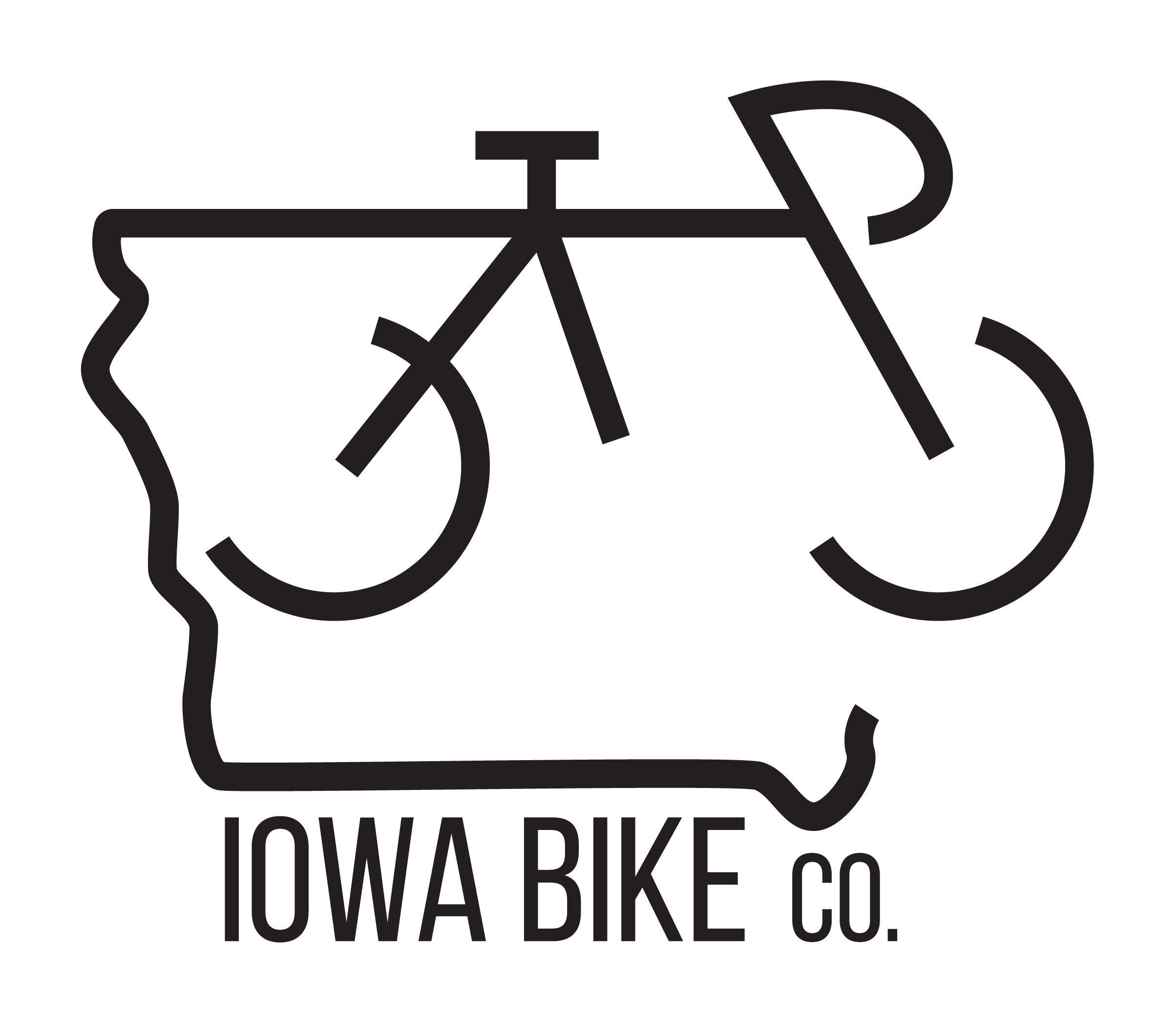 Iowa Bike Co. Logo