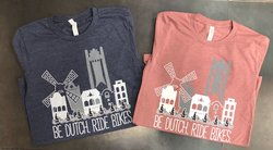 Iowa Bike Co. Be Dutch Ride Bikes T-Shirt