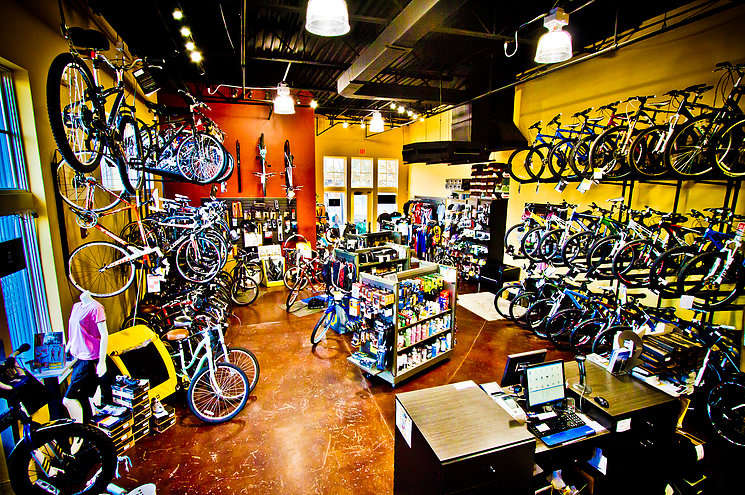 Inside Brandon Bikeworks
