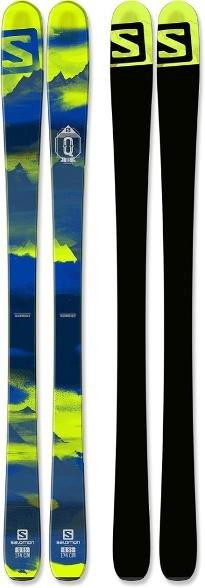 Salomon N Q-85 DARK BLUE/Green