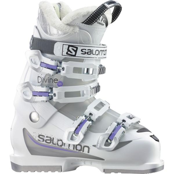 Salomon DIVINE 55 White Crystal Translu. Purple