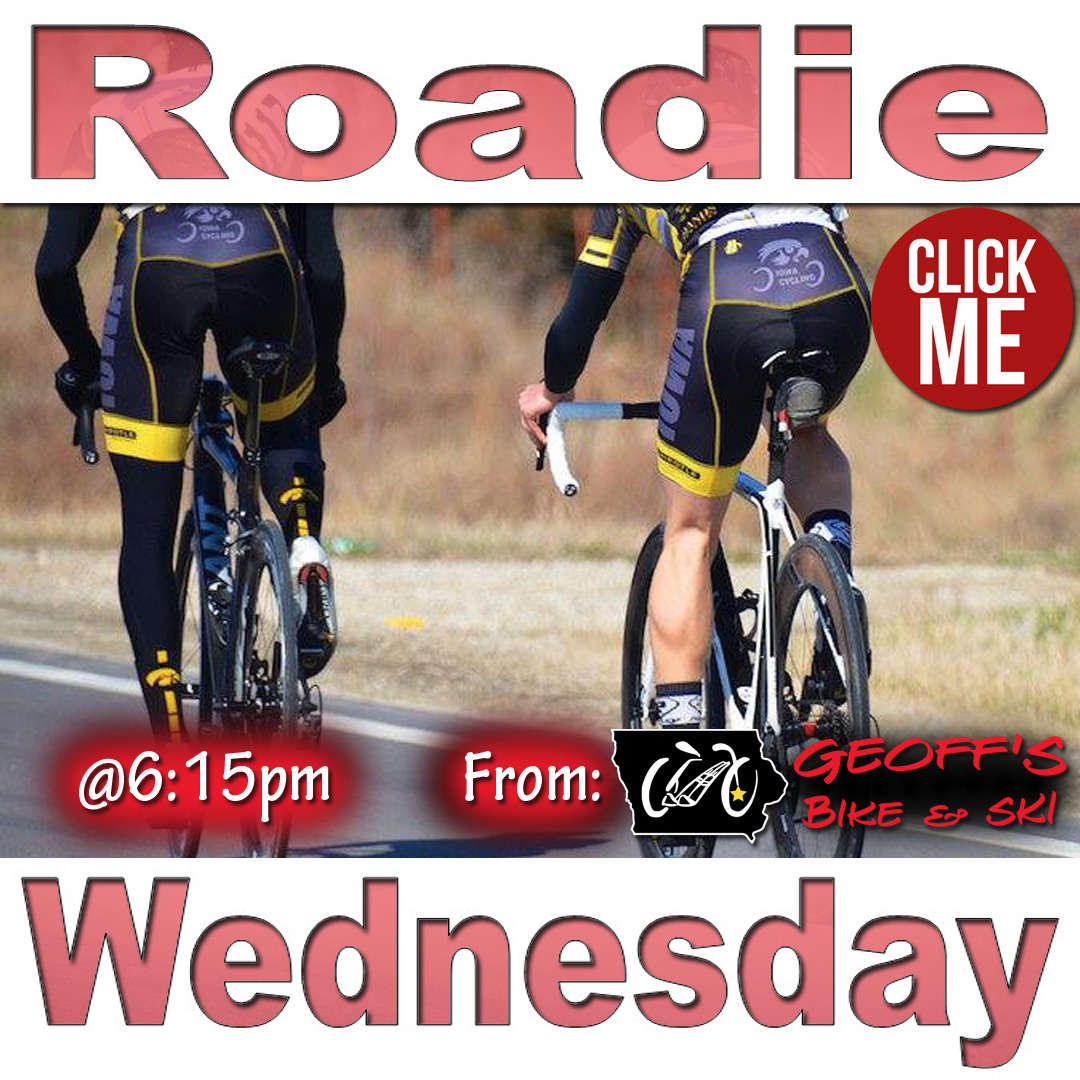 Roadie Wednesday