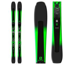 Salomon XDR 78 ST + Mercury 11 Black / Green