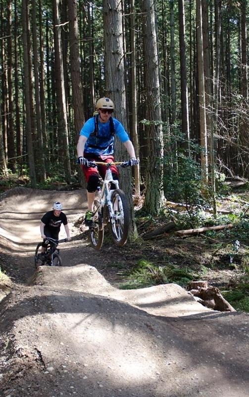 Kody jumping Silverdale Cyclery