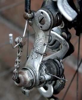 old Simplex derailleur Silverdale Cyclery
