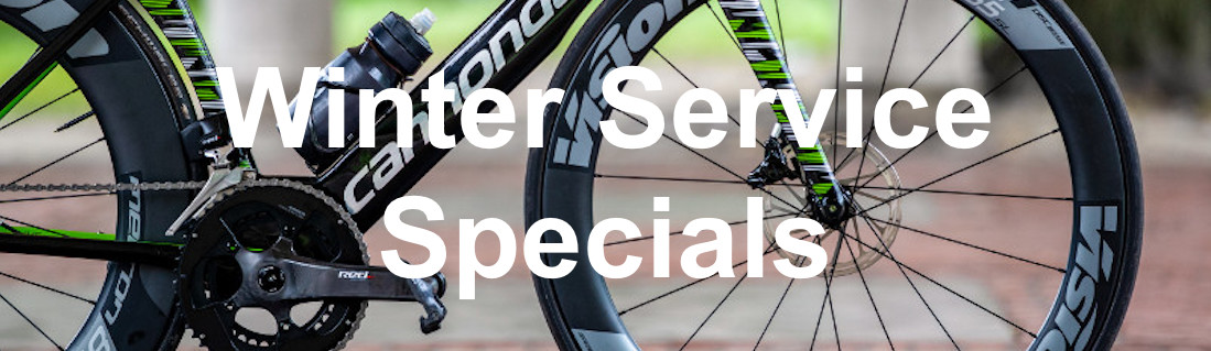 winter service special silverdale cyclery