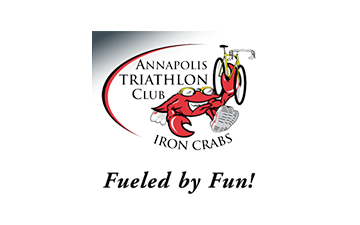 Annapolis triathlon club, iron crab. fueld by fun!