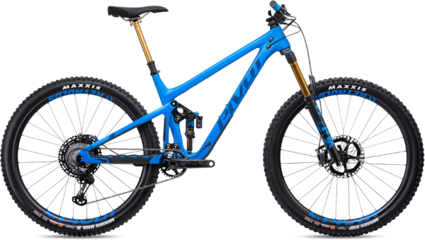 Pivot Cycles SWITCHBLADE 29 PRO XO1 Blue V4