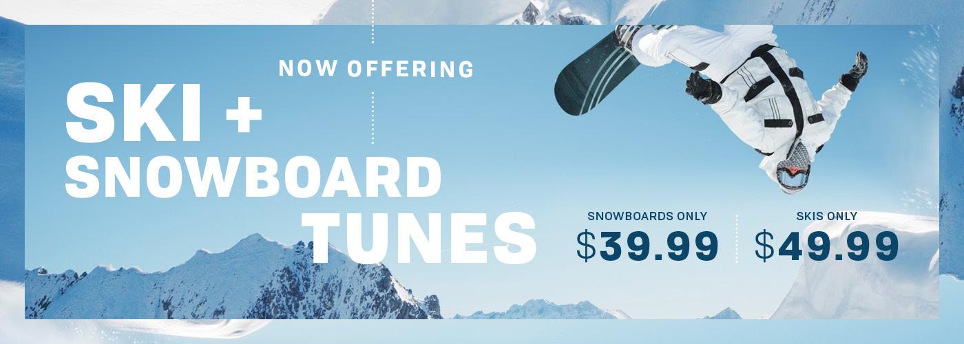 Ski & Snowboard Tune