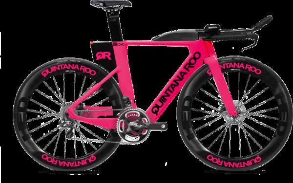 Quintana Roo PRSIX DISC Di2 Size 50 - Neutron Pink