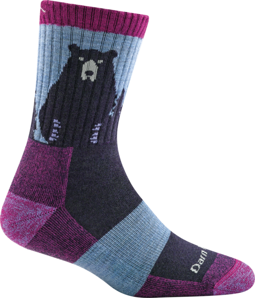 Darn Tough Bear Town Micro Crew Light Cushion Socks