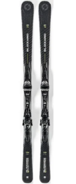 Blizzard Quattro 7.2 Skis with Binding