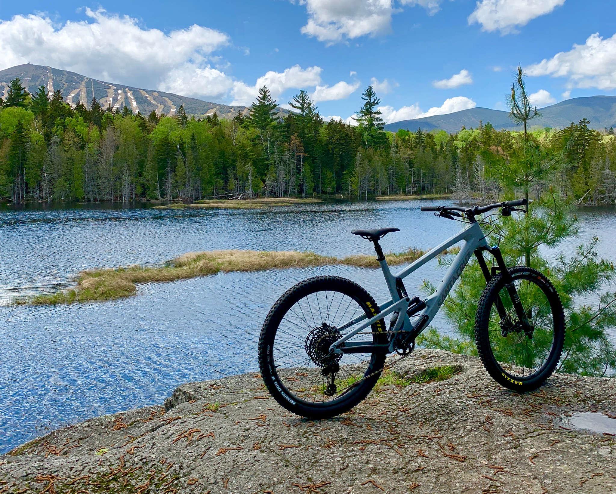 mountain bike carrabasset valley maine