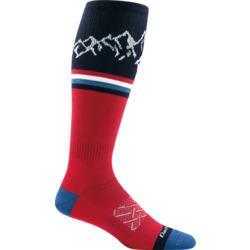 Darn Tough Alpenglow Over-The-Calf Light Socks