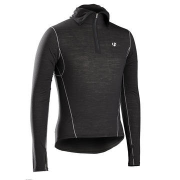 Bontrager BASELAYER BONTRAGER B2 HOODED LONG SLEEVE BLACK