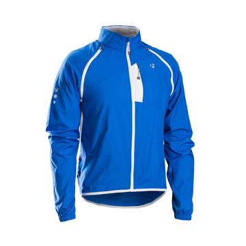 Bontrager JACKET BONTRAGER RACE CONVERTIBLE WINDSHELL BLUE