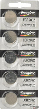 Energizer Lithium Battery: Card of 5