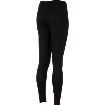 Smartwool SMARTWOOL WOMEN'S MICROWEIGHT LONG UNDERPANT BASE LAYER: BLACK