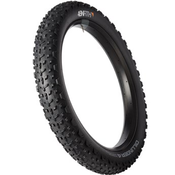 45NRTH 45NRTH Dillinger 26x4.0 Studded Fatbike Tire - 120tpi Tubeless Folding (240 Concave Carbide Studs) *Used