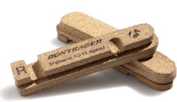 Bontrager BRAKE PAD BONTRAGER CARBON RIM SHIMANO 2 SLOT PAIR
