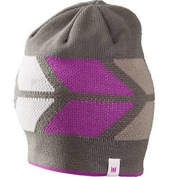 Trek HEADWEAR BONTRAGER TREK CHEVRON WM BEANIE PURPLE/GREY