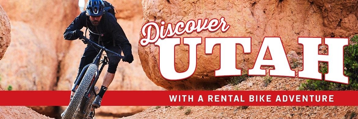 Discover Utah with a rental bike adventure
