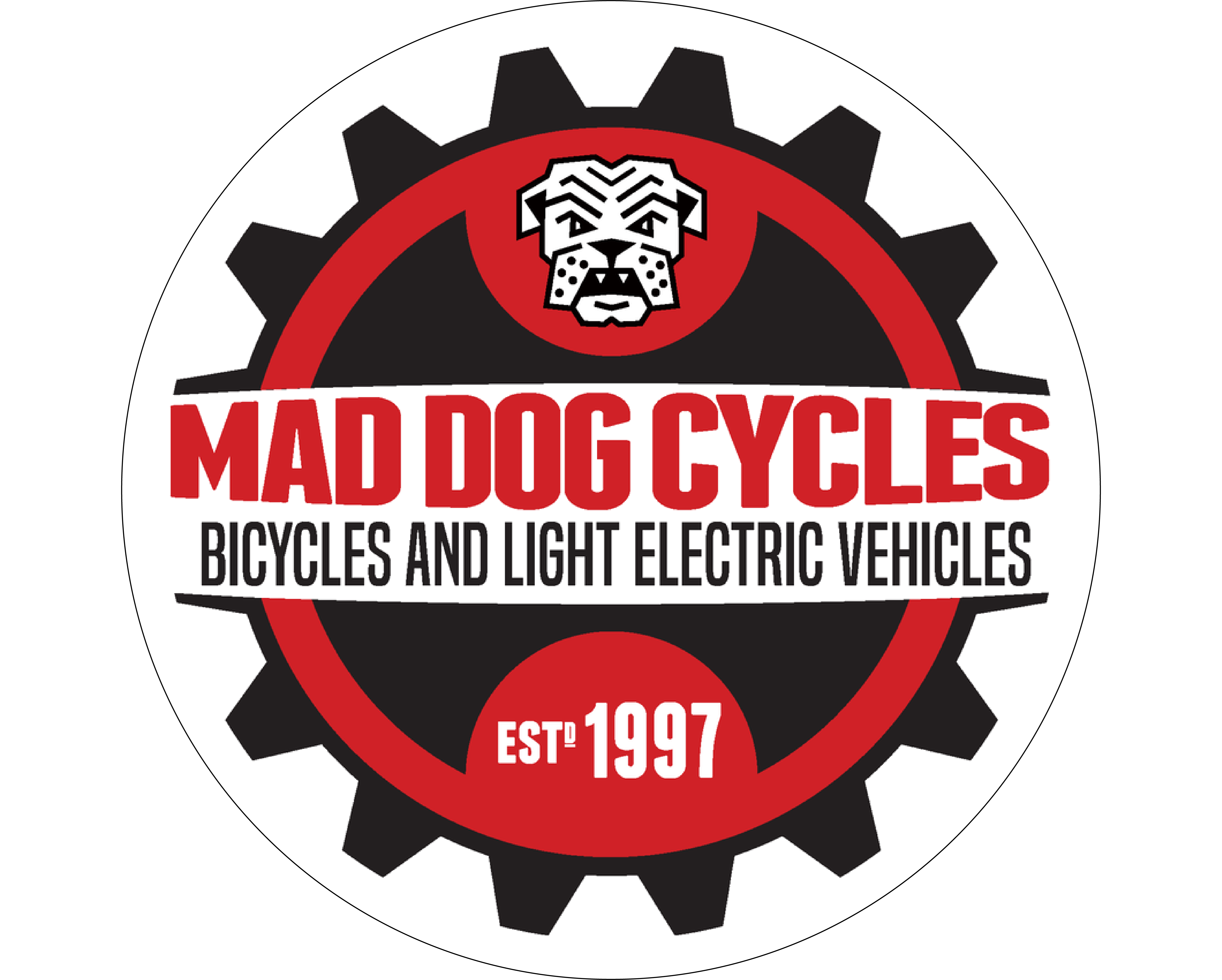 Mad Dog Cycles logo - link homepage