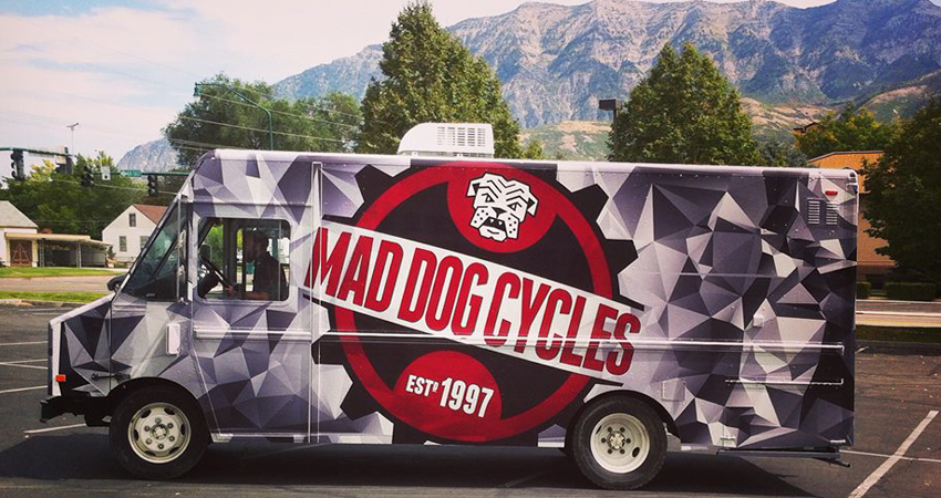 Mad Dog Cycles mobile repair shop
