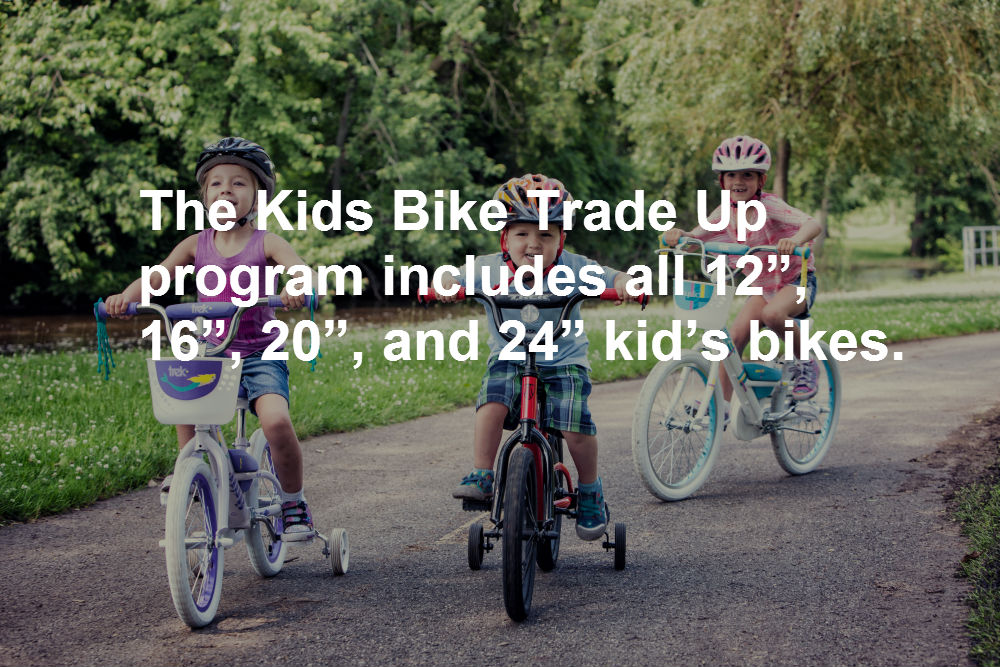 Kids Bikes Utah Valley Trade Program