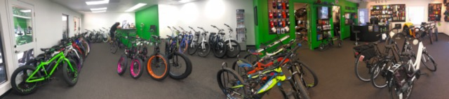 We have ebikes for rent!