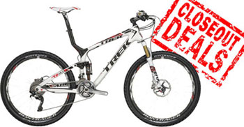 Trek Closeout Mountain and Road Bike Sale