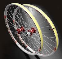 Chris King Red ISO Disc Custom Wheelset