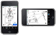 iOS and Android Bicycle Fitting