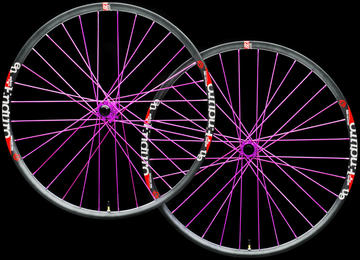 "Industry Nine Torch Trail 32 Hole 29"" Custom Wheelset"