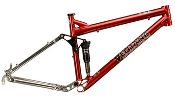 Ventana el Ciclon Mountain Bike Frame