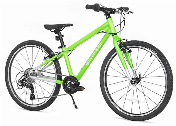 "CycleKids 24"" CycleKids Bike Chaos Green"