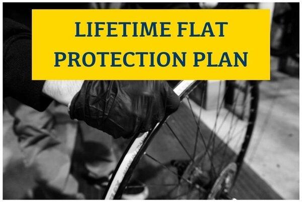 Bike Therapy Lifetime Flat Protection Plan -New Bike