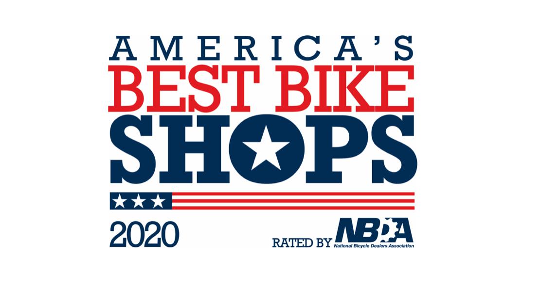 America's Best Bike Shops 2020 logo