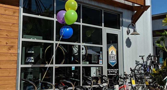 Bike Therapy Storefront