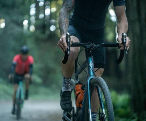 bikes in stock image