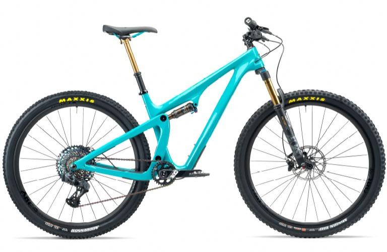 Yeti Race SB 100 Turquoise Bike