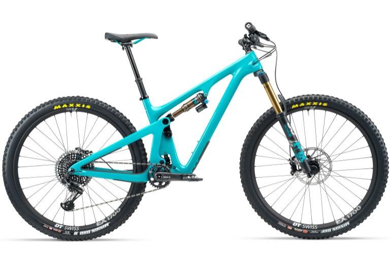 Yeti Rip SB 130 Turquoise Bike